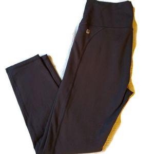 Fabletics 7/8ths High Waist Grey Leggings Size XS